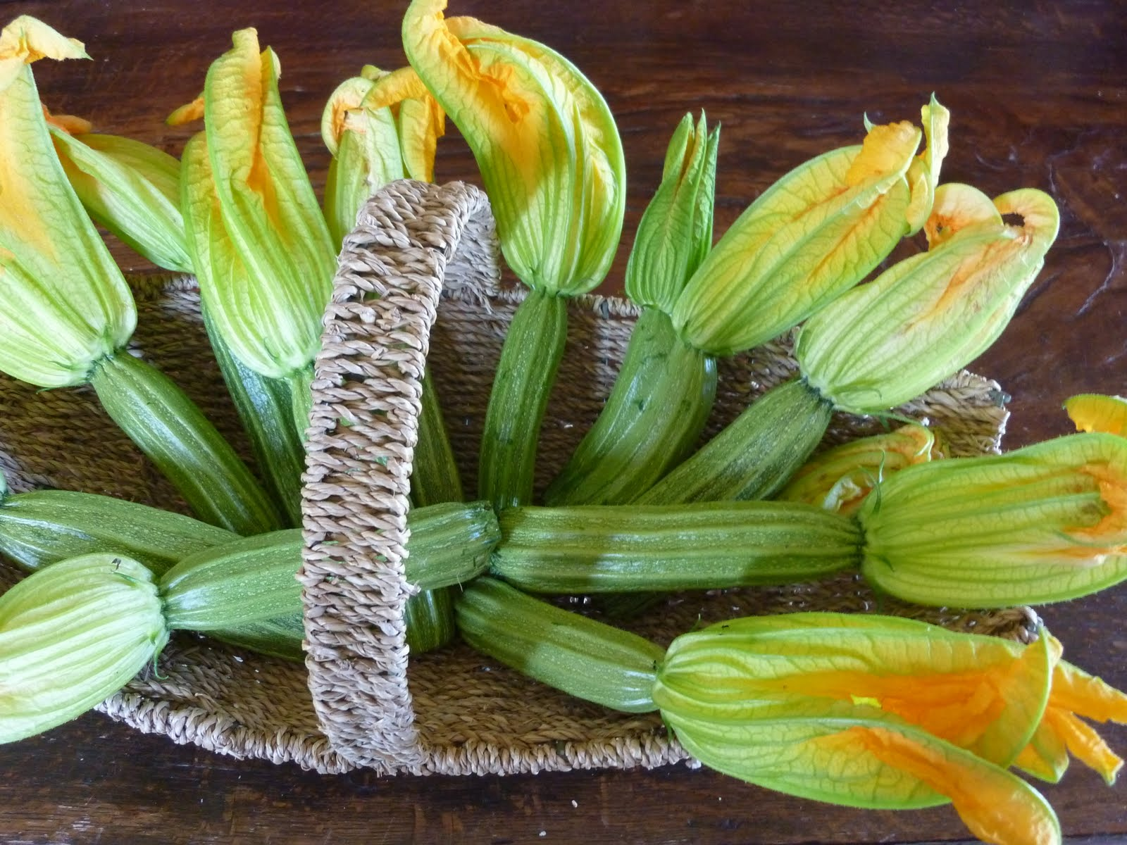 Flavor of Italy Zucchini Flowers