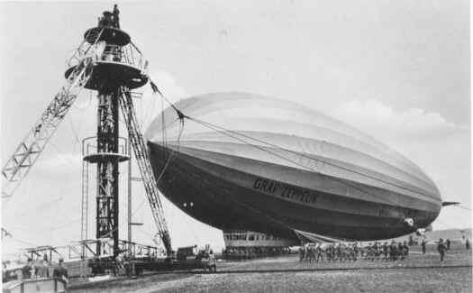 Gambar Pesawat Balon Zeppelin 01