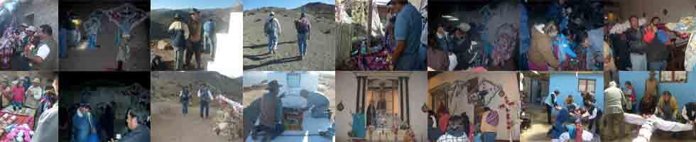 PUEBLO DE PUTRE, NORTE DE CHILE AYMARA