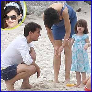 Cruz  Katie Holmes on Tom Cruise Y Katie Holmes  En R  O De Janeiro