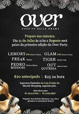 Over Party Regente 31/07