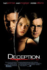Deception, Poster