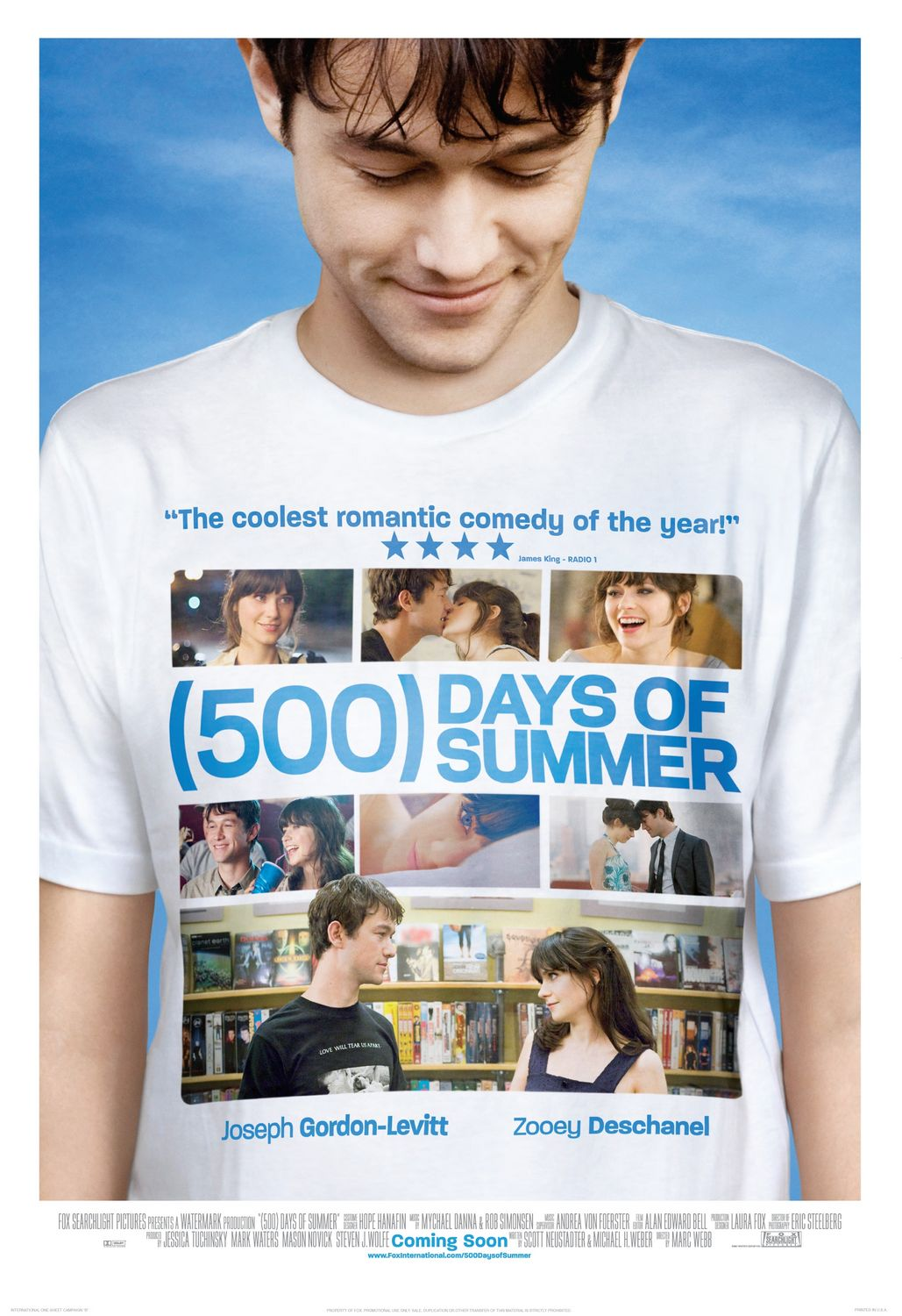 (500) Days of Summer, Poster