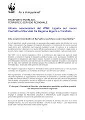 L'analisi del WWF Liguria