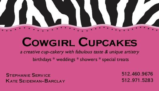 Cowgirl Cupcakes Austin, Texas