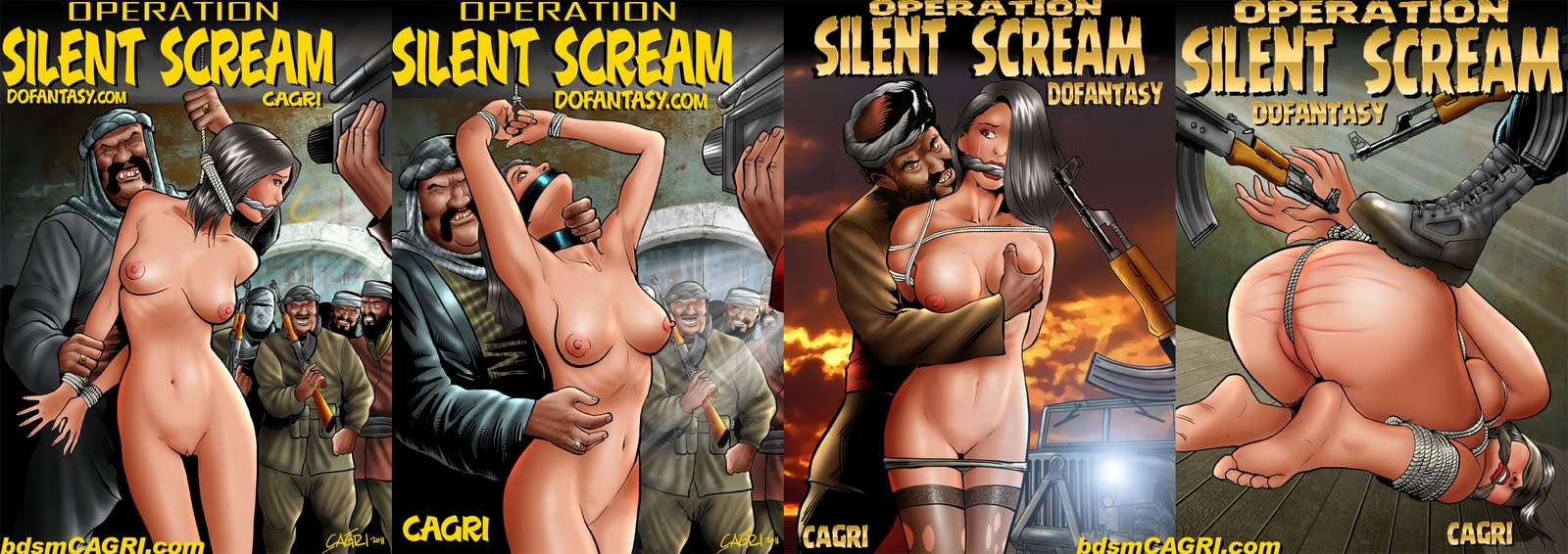 SILENT SCREAM COVER STUDIES