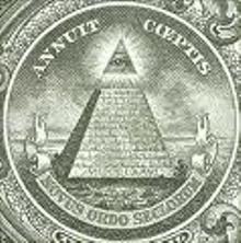 Remarque la séparation entre le triangle et la base! C'est l'oeil des Illuminatis!