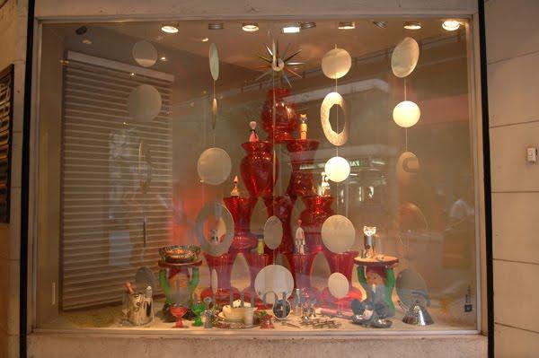 Decoraci n y dise o de vidrieras vidrieras de navidad - Decoracion navidena para negocios ...