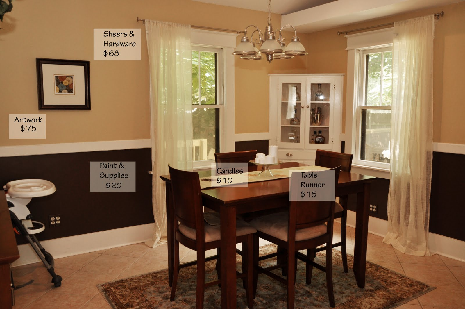 Great Dining Room Makeover   On A Budget!