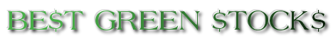 BestGreenStocks.Info Clean Technology Investing