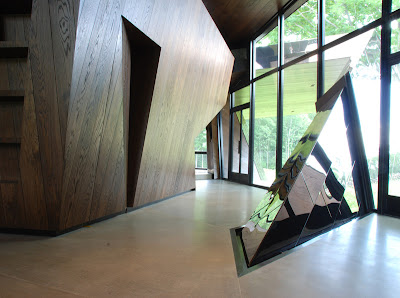 Daniel libeskind connecticut house interior