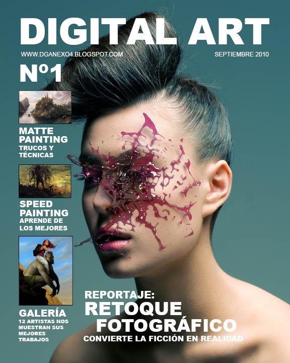 portadas de revistas de diseno grafico