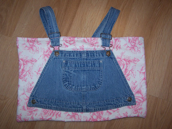 Pretty Pink Shabby Roses Denim Tote, Market, Baby Bag