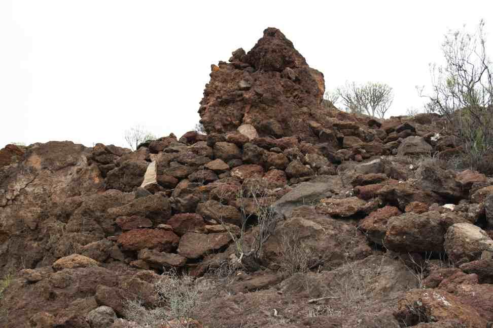 Los arqueólogos localizan en Gran Canaria la montaña sagrada de Umiaya