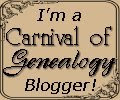 Carnival of Genealogy Blogger