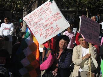 Marcha de Juella a Tilcara
