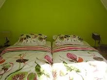 slaapkamer van het Ganzennest