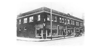 The McConahy Building in the 1920s