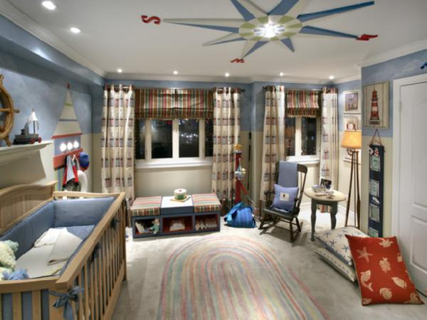 Cute room for baby for Boys nautical bedroom ideas