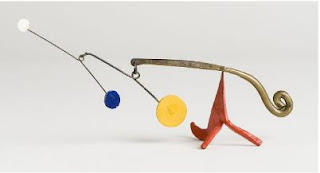Calder - Polychrome Dots and Brass (1964)