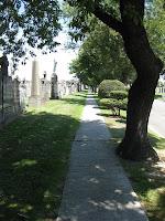 Sidewalk in Calvary 3 - Going to Bruno Plot