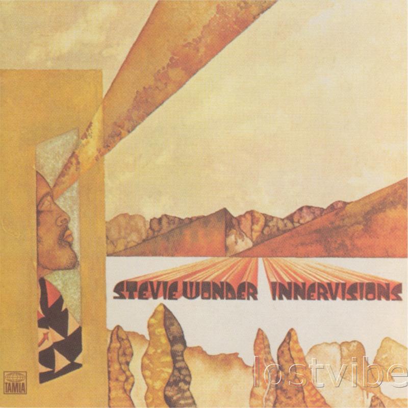 Innervisions - Stevie Wonder - album cover