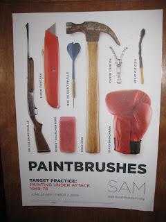 Target Practice Exhibition Poster