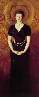 Isabella Stewart Gardner - Painted by John Singer Sargent