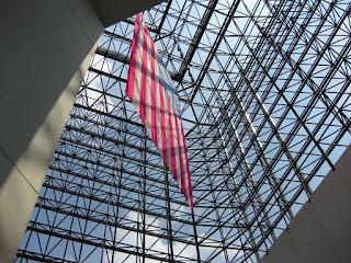 JFK Library - Boston - Flag Hanging
