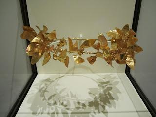 Getty Villa - Gold Wreath