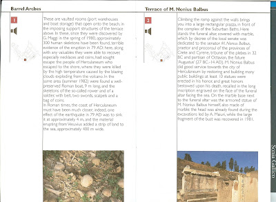Herculaneum Guide Book Example Page