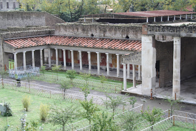 View on Villa Oplontis From the Entry