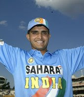Indian Cricket Team player Ganguly got century in previous match pics