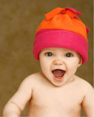 Lovely baby laughing free photos