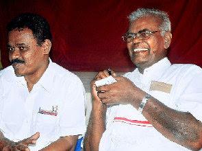 CPI Political Leader Nallakannu stills