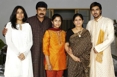 Tollywood Super Star Sranjeevi Family Photo
