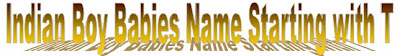 Indian Hindu boy kids name list with alphabetic order