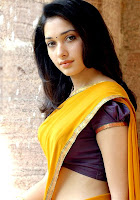 South Indian Actress Thamanna halfsaree glamour image