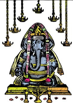 Hindu God Vinayagar beautiful photo