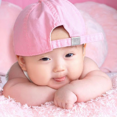 Lovely baby cute smiling photo