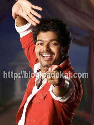 Famous Tamil Celebrity Vijay in stylish dancing image