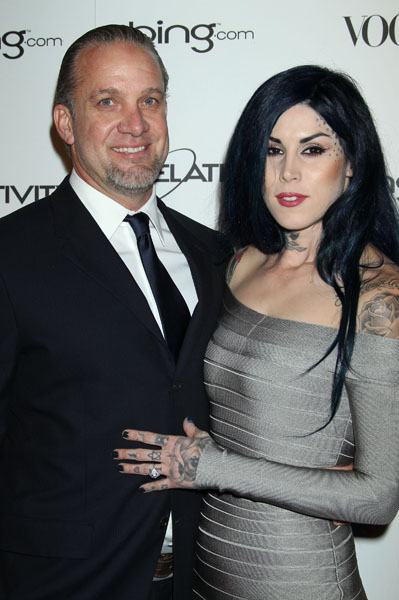 jesse james and kat von dee. kat von dee and jesse james