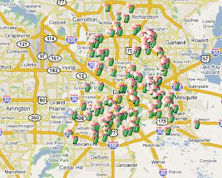 Dallas Crime Map | SpotCrime - The Public's Crime Map on
