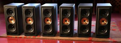 3 paires de Studio 15 amplifiées- arrière