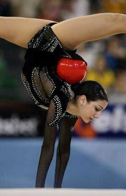 Alexandra Orlando Sexy Rhythmic Gymnast Pictures