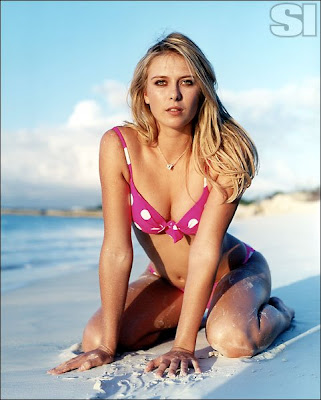 Maria Sharapova bikini shoot for Sports illustrated