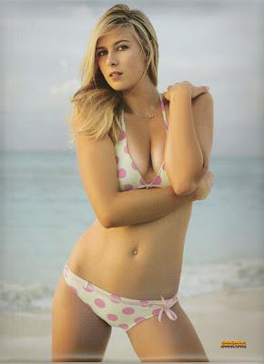 Maria Sharapova Sexy Bikini Pictures