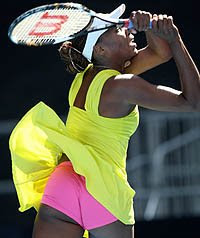 Venus Williams up skirt