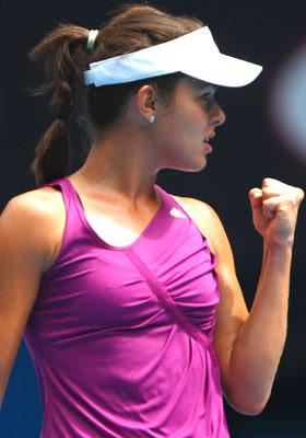 Tennis famous Ana Ivanovic