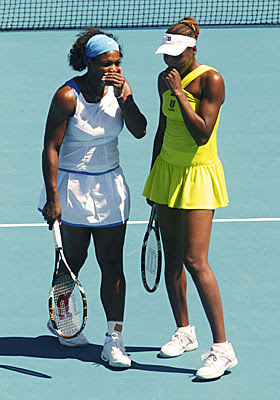 Australia Open Tennis 2009 - Williams Sisters